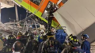 """""""Van 23 muertos y 79 heridos; hay 4 cuerpos atrapados en los trenes"""", Sheinbaum  2"""
