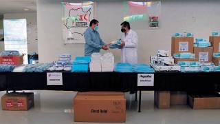 Reciben hospitales de Morelos donación de equipo de protección 2