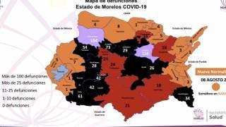Esta es la situación actual sobre COVID-19 en el estado de Morelos al 8 de agosto 2