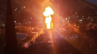 Explota tanque de gas en la colonia Calera Chica, de Jiutepec 2
