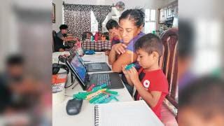 Familias se adaptan a las nuevas exigencias en educación en Morelos 2