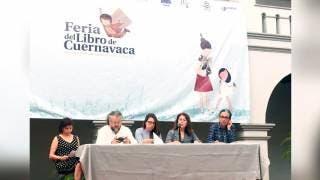 Anuncian Feria del Libro en Cuernavaca