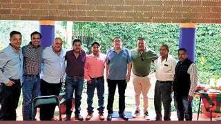 Se reúne Víctor Mercado con transportistas de Tepoztlán  2