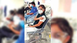 Concluye IMSS Morelos primera etapa de vacunación a su personal 2