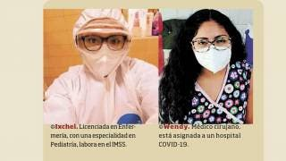 Libran Ixchel y Wendy batalla contra coronavirus en Morelos 2