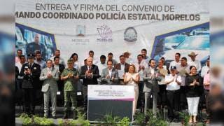 Van 30 alcaldes con Policía Morelos; también tres concejos municipales 2