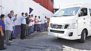 Dan batalla rutas a taxis colectivos en Morelos 2