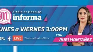 DIARIO DE MORELOS INFORMA CON RUBI MONTAÑEZ A LAS 15:00 H | 11 JUNIO 2021 2