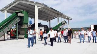 Plan. La planta de valorización de Mazatepec estuvo lista desde el año pasado.