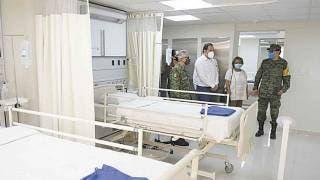 Supervisan autoridades estatales y federales hospitales destinados a pacientes con COVID-19 2