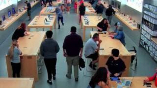 Roban 27 mil dólares en mercancía de Apple Store en California
