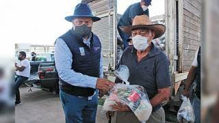 Acelera Sedeso Morelos entrega de despensas 2