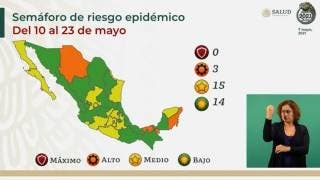 Confirman semáforo amarillo para Morelos; récord de 15 estados en color verde 2