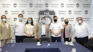 Se reúne Fiscal de Morelos con juristas de la Federación Iberoamericana de Abogados