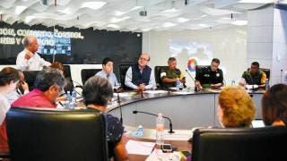 Sesiona Comité de Emergencia en la entidad