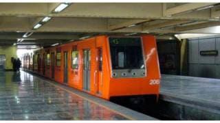 Sujeto se avienta a las vías del metro en CDMX