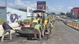 Hay quejas por arreglos del Paso Express Cuernavaca 2