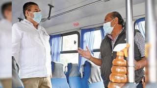 Trabaja SMyT en que haya orden y mejor servicio en el transporte público