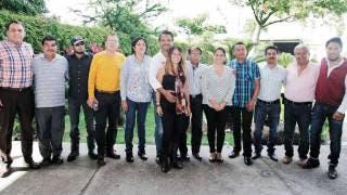 Se reúnen nueve ayudantes municipales con el alcalde Antonio Villalobos 2