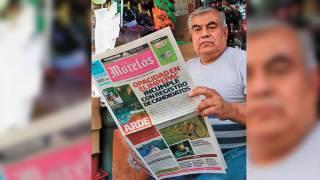 Cumple 38 años como voceador en Morelos 2