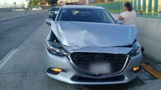 Policía Federal atendió dos accidentes por alcance sobre la carretera México - Cuernavaca. 2