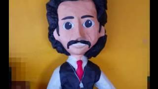 Ya venden piñata de Luisito Rey, el odiado papá de Luis Miguel