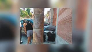 Abandonan auto tras chocar contra casa en Cuernavaca 2