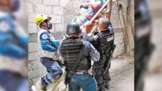 Sufre descarga eléctrica en obra clausurada de Cuernavaca 2
