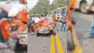 Fallece mujer en accidente en la México-Cuernavaca 2