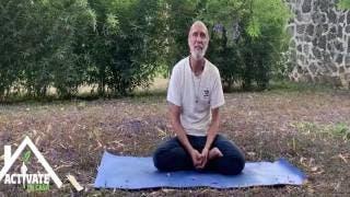 Actívate en casa, clase de yoga