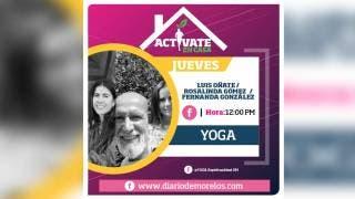 Actívate en Casa, hoy hacemos yoga. 2