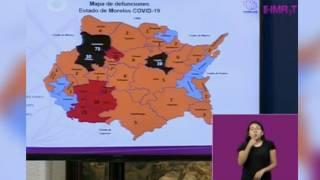 Actualización COVID-19 en Morelos. 2