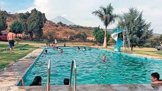 Afectan lluvias a balnearios de Morelos