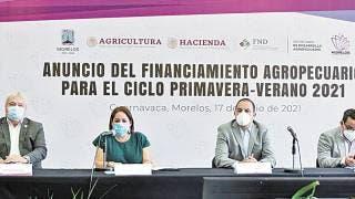 Presentan en Morelos financiamiento agropecuario ciclo primavera-verano por 850 mdp 2