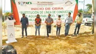 Mejoran red de agua en Xochitepec 2