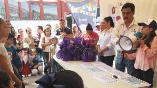 Premia Imipe a niños en concurso de dibujo