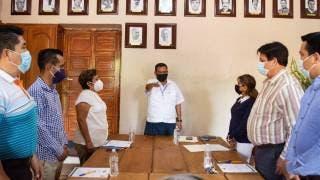Asume nuevo alcalde de Tepoztlán, Mario Silvino Flores Oropeza 2