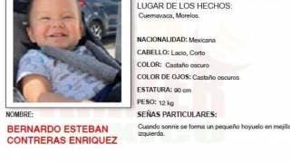 Desaparece bebé de 1 año en Cuernavaca; activan el alerta ámber 2