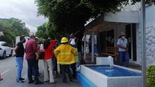 Desalojan SAPAC de avenida Morelos, por alerta sísmica, en Cuernavaca 2