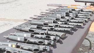 Destruyen armamento decomisado en la 24/a. Zona Militar de Cuernavaca