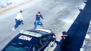 Así fue como asesinaron a un policía vial en Emiliano Zapata 2