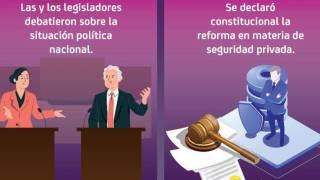 Asuntos destacados: Se declaró constitucional la reforma en materia de seguridad privada 2
