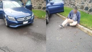 Atacan a un escolta a bordo de Mercedes Benz en Cuernavaca 2