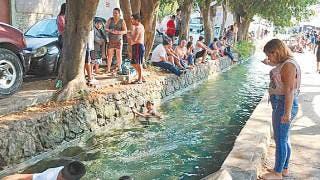 Fotonota: Disfrutan en apantle de Atlacomulco y en río de Jojutla último día de descanso 2