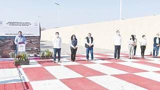 Inaugura Cuauhtémoc Blanco rampa de frenado en carretera Chalco-Cuautla 2