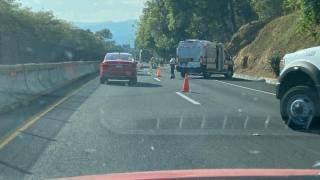 Muere atropellado un hombre en la autopista México-Cuernavaca  2