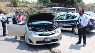 Realizan en Cuernavaca operativo para detectar autos robados 2