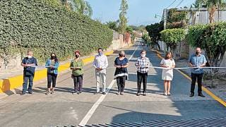 Rehabilitan avenida Puebla en Emiliano Zapata 2
