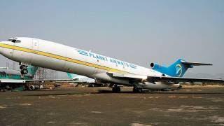 Abandonan avión Boeing 727 en el aeropuerto 'Mariano Matamoros' de Morelos 2