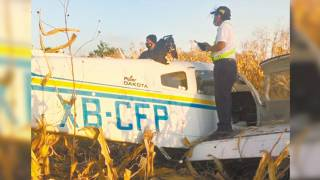 Cae aeronave en Morelos y salen 2 con vida 2